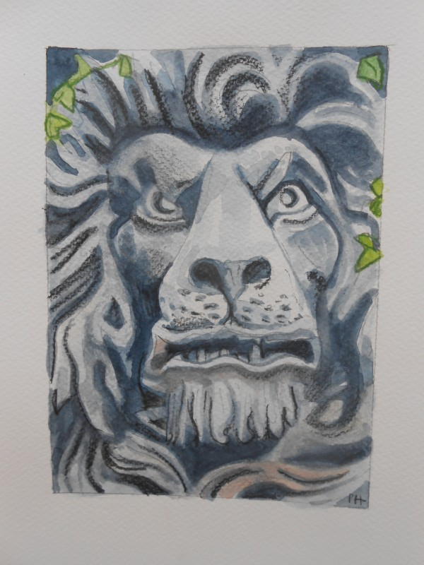 Portmeirion:  The Stone Lion