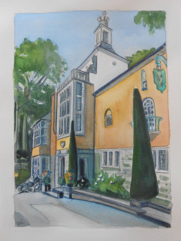Portmeirion: The Town Hall